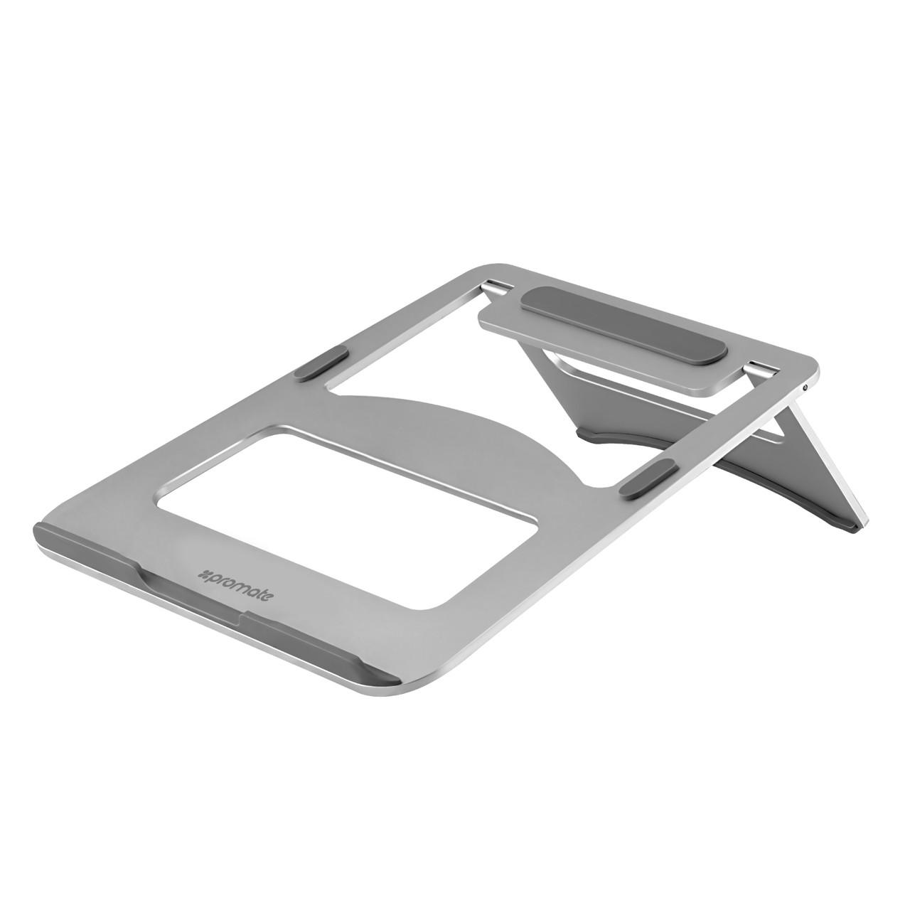 Подставка под ноутбук Promate Deskmate-3 Silver (Распакован)
