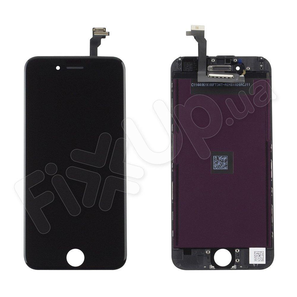 Дисплей iPhone 6 (4.7) с тачскрином в сборе (цвет черный), оригинал PRC, уценка