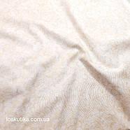 58019 Теплый лепестковая. Ткани с цветочным принтом, фоновая. Для рукоделия, декора, вышивания и шитья., фото 2