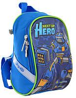 Рюкзак детский 1 Вересня K-26 Steel Force Синий 556473, КОД: 1259304