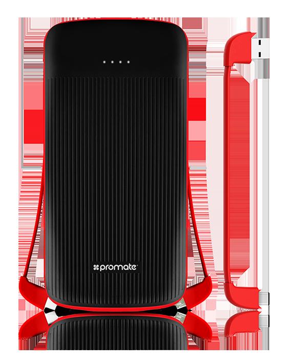 Компактный аккумулятор Promate PolyMax Uni Black (Распакован)