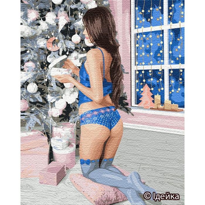Картина по номерам Открывая подарки ТМ Идейка 40 х 50 см КНО4773