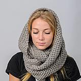 Женский шарф снуд вязаный, фото 2