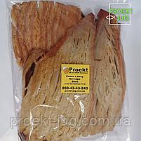 Кальмар солено - сушёный Пласт в арахисовом масле, закуска к пиву (снек) 250 г, фото 2