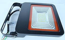 EUROELECTRIC LED SMD Прожектор чорний з радіатором NEW 30W 6500K