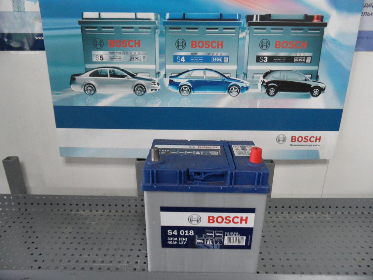 Авто, Акумулятор, BOSCH 0092S40180, S4 40Ah,0 092 S40 180,АКБ.