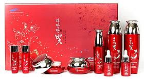 Омолаживающий набор для лица с красным женьшенем и галактомисисом Daandan Bit Premium Red Ginseng 5 Set