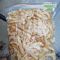Кальмар кольцами солено - сушеный, закуска к пиву (снек) 250 г, фото 3