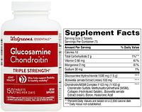 Walgreens, Глюкозамин, Хондроитин и MCM, 150 таблеток (Glucosamine, Chondroitin, MSM)