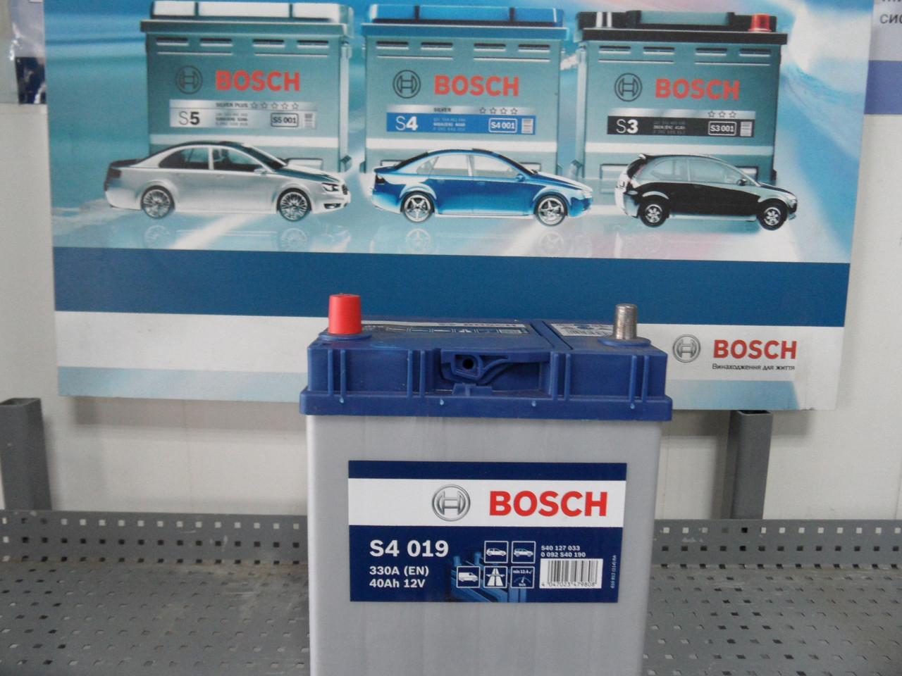 Автомобильный, аккумулятор BOSCH, 0092S40190, 40Ah,АКБ.