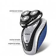 Мужская электробритва VGR V-300, фото 4