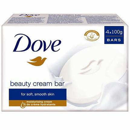 Мило DOVE  4x100 гр Beauty Cream, фото 2
