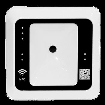 Универсальный считыватель QR-кода, NFC, Mifare ZKTeco QR500-W