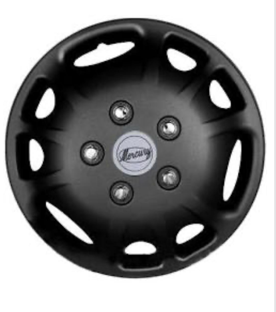 Колпаки R16  Jestic Mercury Chrom Black