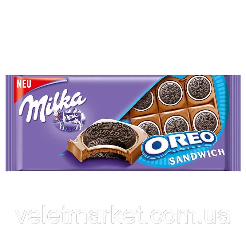 Шоколад Мілка з печивом Орео 92 г