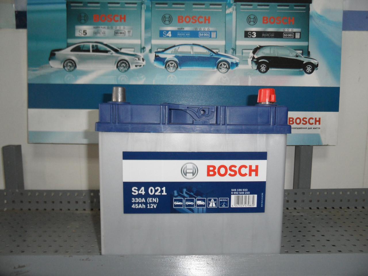 Авто,Акумулятор, BOSCH,АКБ, S4, 0092S40210, 0 092 S40 210, 45Ah