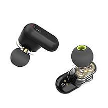 Беспроводные Bluetooth наушники BlitzWolf BW-FYE7 с двойными динамиками (Черный), фото 3