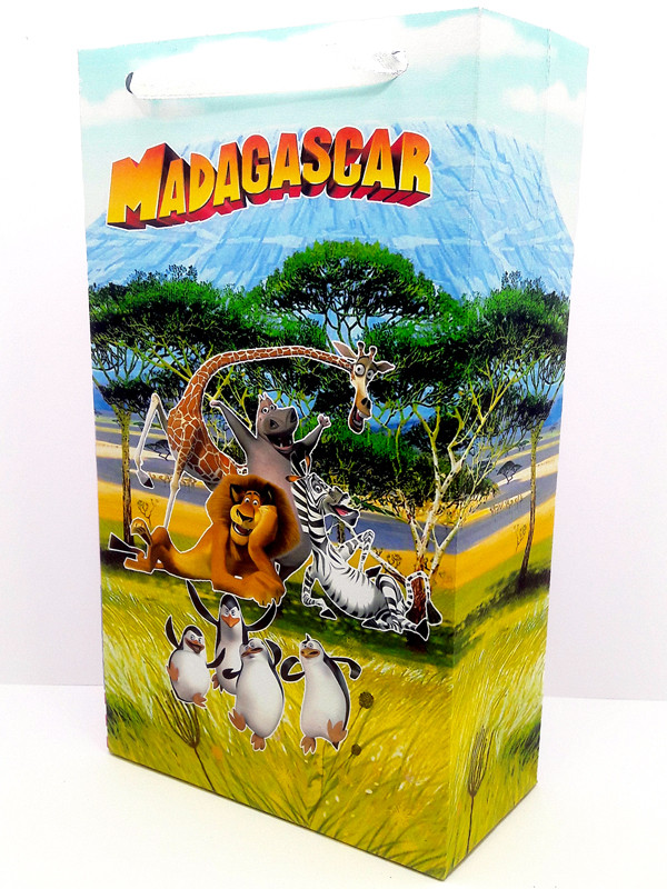 """Мадагаскар"" - Пакет 32/18/9 см."