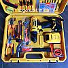 Шуруповерт DeWALT DCD791 (24V 5A/h Li-Ion) c набором инструментов. Аккумуляторный ударный шуруповёрт Деволт, фото 2