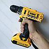 Шуруповерт DeWALT DCD791 (24V 5A/h Li-Ion) c набором инструментов. Аккумуляторный ударный шуруповёрт Деволт, фото 7