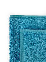 Махровое полотенце для сауны голубое, 100 х 150см