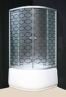 Душевая кабина Sunlight 7125-10 90х90x200 см С узором, КОД: 1370848