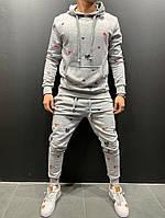 Мужской спортивный костюм 2Y Premium 9070 grey, фото 1