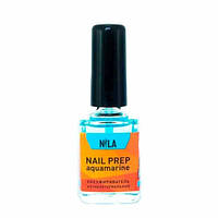 Обезжириватель Nail Prep NILA с антибакт. эффектом (аквамарин) 12мл