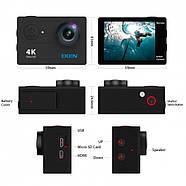 Экшн-камера EKEN B5R 1080P с пультом Черный, фото 2
