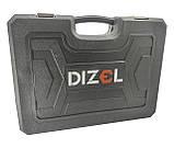 Качественный набор инструментов 216 предметов DIZEL DZ-216. Профессиональный!, фото 5