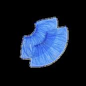 Бахилы полиэтиленовые голубые 50 пар