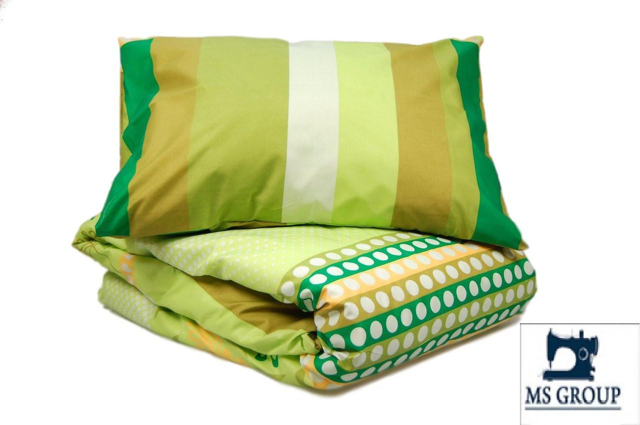 Двуспальный комплект постельного белья эконом 030
