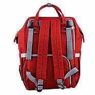 Сумка-рюкзак для мам UTM Красный, фото 3