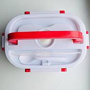 Ланч-бокс The Electric Lunch Box с подогревом Red, фото 2