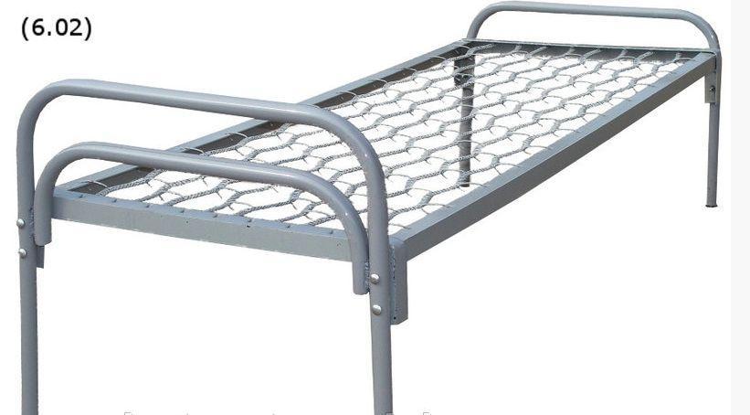 Кровать 190х70 спинка металлическая 003