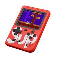 Портативная игровая приставка на 400 игр dendy SEGA 8bit SUP Game Box Красная, фото 2