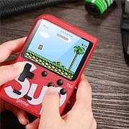 Портативная игровая приставка на 400 игр dendy SEGA 8bit SUP Game Box Красная, фото 5
