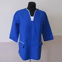 Куртка медицинская синяя