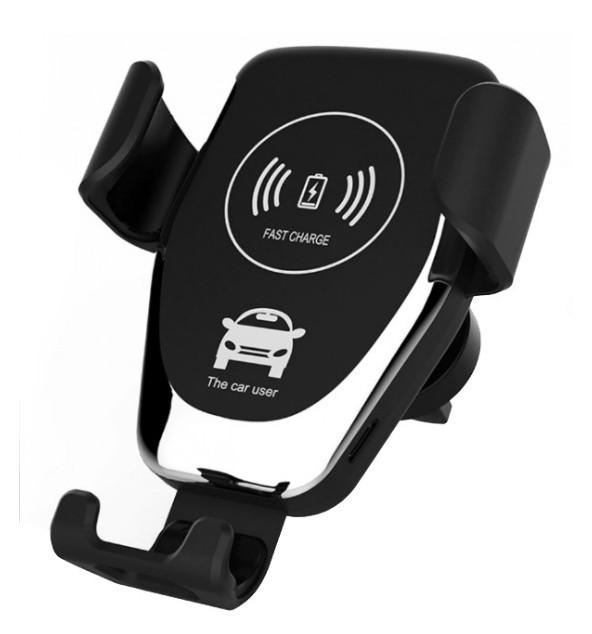 Автомобильный держатель для телефона с беспроводной зарядкой HOLDER HWC1 10W Черный (300867)