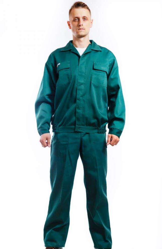 Костюм рабочий Мастер зеленый