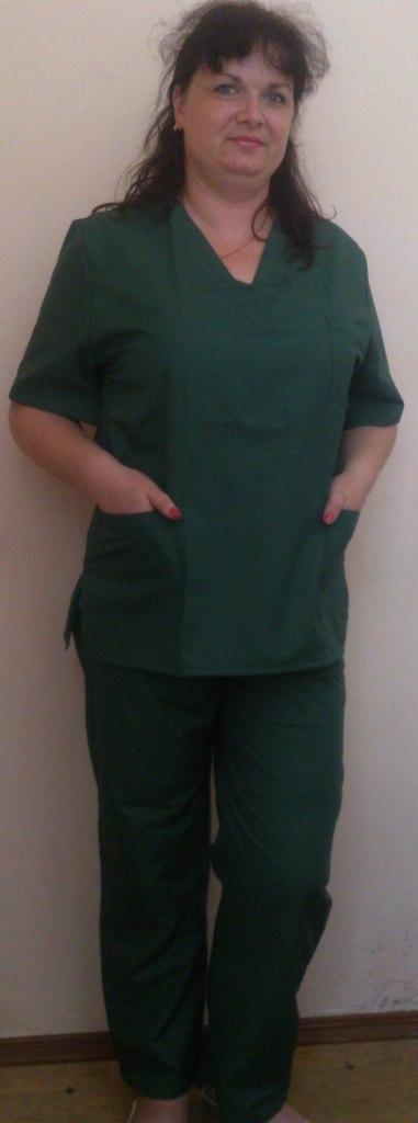 Костюм хирурга темнозеленый