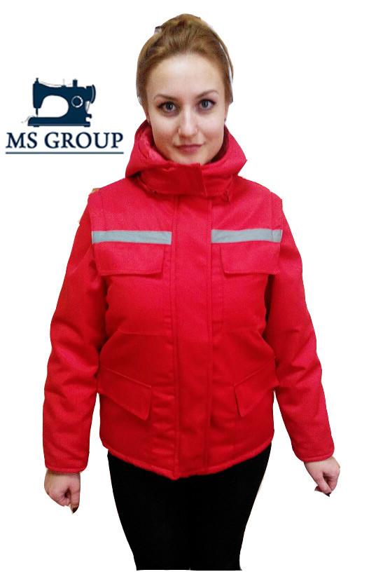Куртка - жилет утепленная для скорой помощи