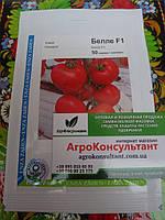 Семена томата Белле F1 50 сем (Enza Zaden/АГРОПАК+) — ранний (65 дн), красный, плоско-круглый,индетерминантный, фото 1