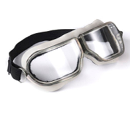 Очки защитные закрытые в железной оправе с прямой вентиляцией ЗП1-80