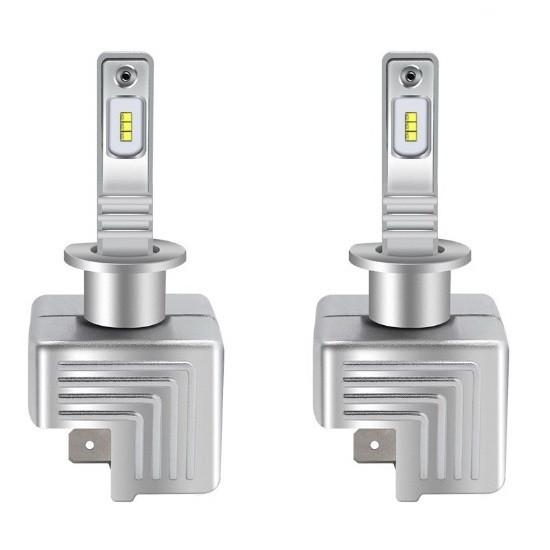 Светодиодная лампа цоколь H1, 9S, 6000К, 8500 lm 40W, 9-36В