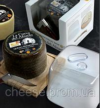 Подарочный набор Сыр Манчего с крышкой и ножом
