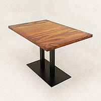 Стол обеденный в стиле Лофт на 2-х опорах Parallel ST-09