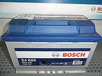 Автомобильный, аккумулятор BOSCH 0092S40090, 74Ah +-, 12V Bosch S40080 Silver 74 Ач, 278х175х190,АКБ