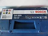 Автомобільний акумулятор BOSCH 0092S40090, 74Ah +-, 12V Bosch S40080 Silver 74 Ач, 278х175х190,АКБ, фото 4