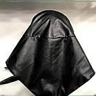 Платок Из Экокожи Черный 072ШП, фото 3